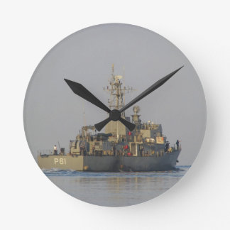 Offshore Patrol Boat Round Clock