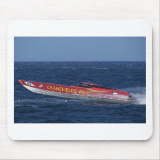 Offshore Powerboat Racing Mouse Pad