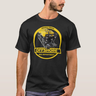 Offshore - ROV Department - Black T-Shirt