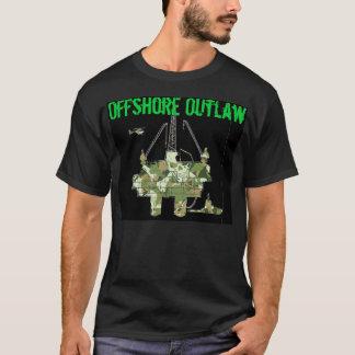 Offshore Skull Camo T-Shirt
