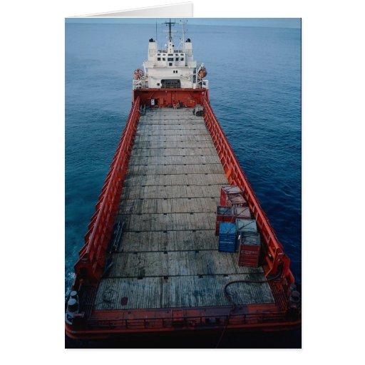 "Offshore supply ship ""Skanki Hav"", Norwegian secto Card"