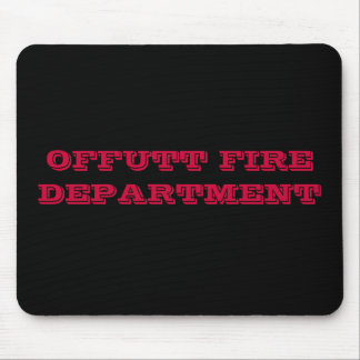 OFFUTT FIREDEPARTMENT MOUSE PAD