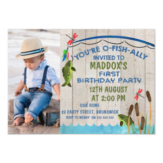 Ofishally Invited First Birthday Invitation