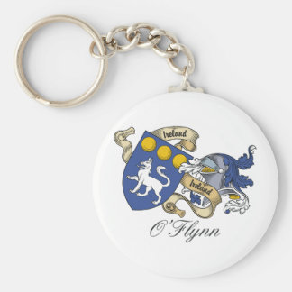 O'Flynn Family Crest Key Ring