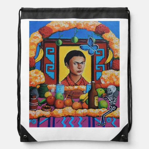 Ofrenda para la Maestra Frida Backpacks
