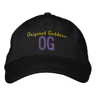 OG Original Goddess Personalized Adjustable Hat Embroidered Baseball Cap