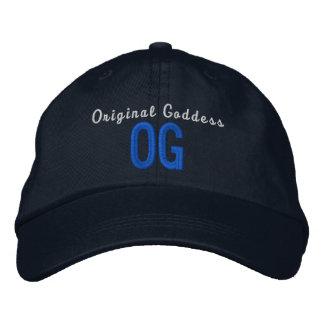OG Original Goddess Personalized Adjustable Hat Embroidered Hat