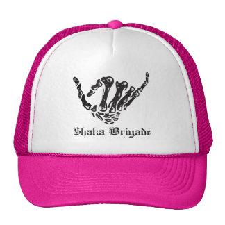 OG Skeleton Shaka - Pink Trucker Hat