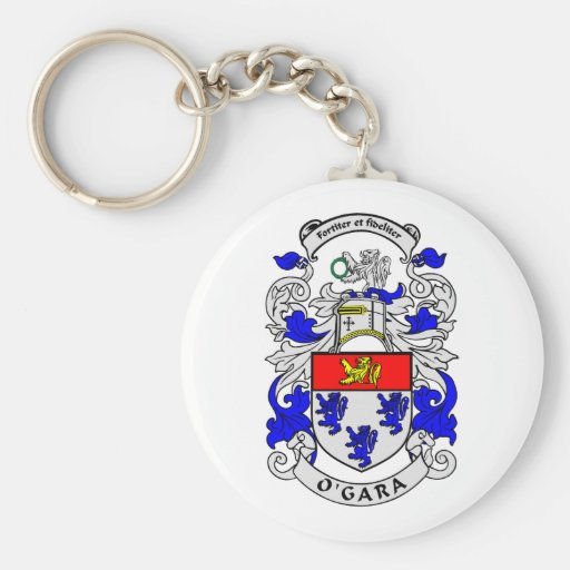O'GARA Coat of Arms Keychain