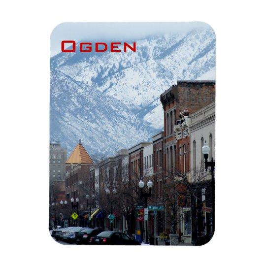 Ogden Rectangular Photo Magnet