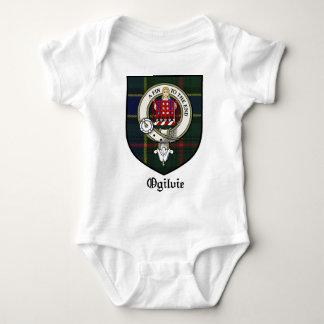 Ogilvie Clan Crest Badge Tartan Tee Shirt