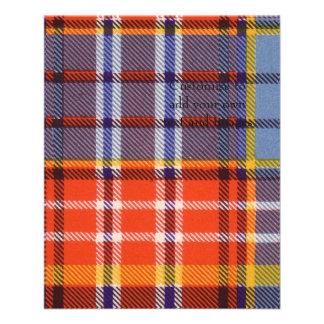 Ogilvie clan Plaid Scottish tartan 11.5 Cm X 14 Cm Flyer