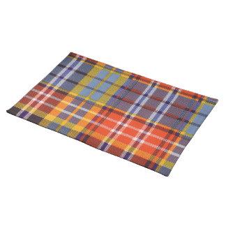Ogilvie clan Plaid Scottish tartan Cloth Place Mat