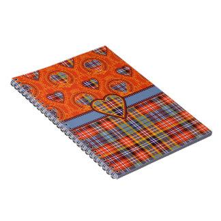 Ogilvie Scottish tartan Notebook