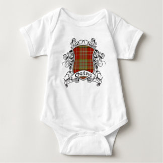 Ogilvie Tartan Shield Baby Bodysuit
