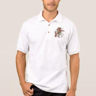 Ogilvie Tartan Unicorn Polo Shirt