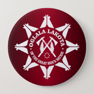 Oglala Lakota 10 Cm Round Badge