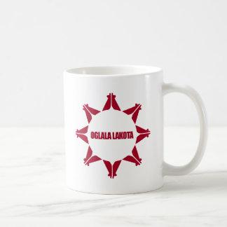 Oglala Lakota Flag Basic White Mug