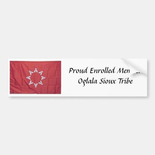 Oglala_Sioux, Proud Enrolled MemberOglala Sioux... Bumper Sticker