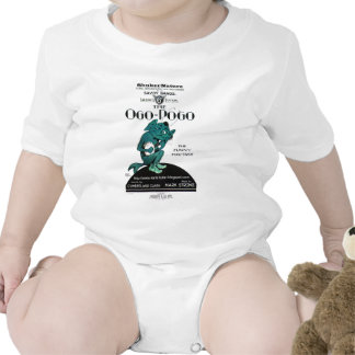 Ogo-Pogo The Funny Fox-Trot ShukerNature Bodysuits