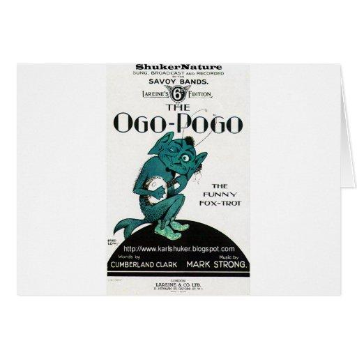 Ogo-Pogo, The Funny Fox-Trot, ShukerNature Greeting Cards