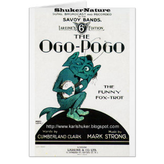 Ogo-Pogo, The Funny Fox-Trot, ShukerNature Card