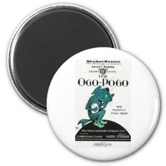 Ogo-Pogo, The Funny Fox-Trot, ShukerNature Magnet