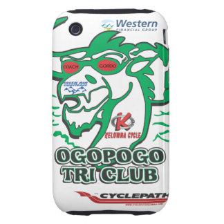 OGOPOGO Tri Club 3S3G Iphone case iPhone 3 Tough Case