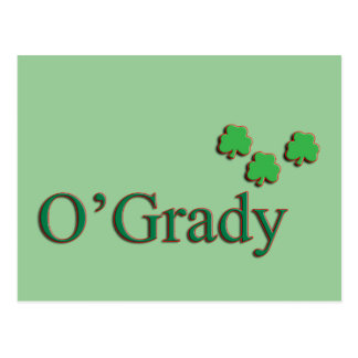 O'Grady Family Postcard