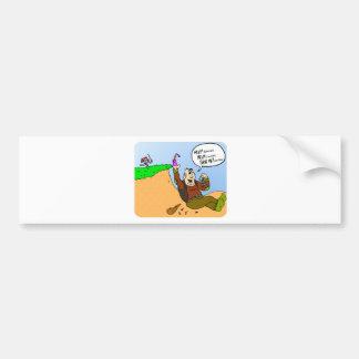 Ogre tricks Knight Bumper Sticker
