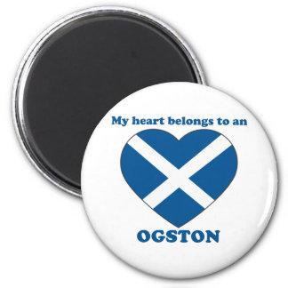 Ogston 6 Cm Round Magnet