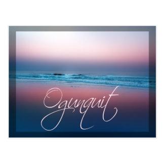 Ogunquit Beach Ogunquit Maine Postcard