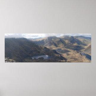 Ogwen Valley, Snowdonia poster