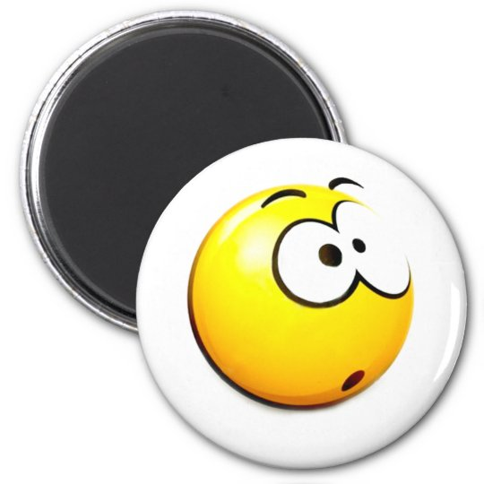 Oh!_ 6 Cm Round Magnet
