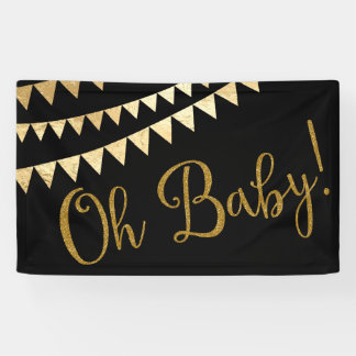Oh Baby Baby Shower Banner