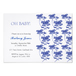 "Oh Baby! Baby Shower Invitation 5"" X 7"" Invitation Card"