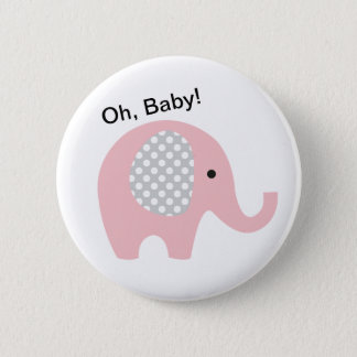 Oh, Baby! Buttons with Elephant