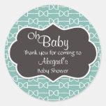 Oh Baby English Horse Bit Baby Shower Sticker