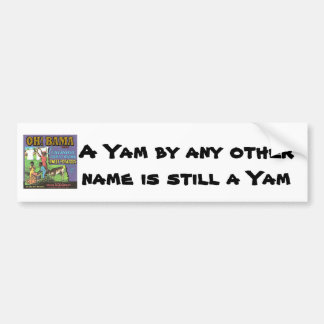 OH! BAMA  Brand YAMS Bumper Sticker