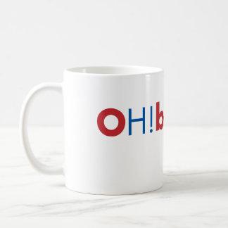 OH!bama - Red and Blue Basic White Mug