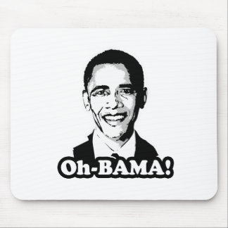 Oh-bama T-shirt Mouse Pad