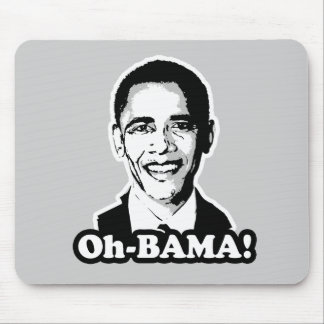 Oh-bama T-shirt Mouse Pads