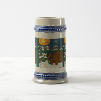 Oh Beary Night Happy Holiday Steiner mug