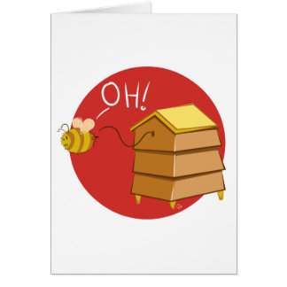 Oh! Beehive - Greeting Card