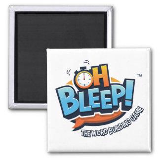Oh Bleep! Logo Magnet
