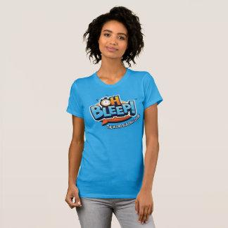 Oh Bleep Logo Tee -- Womens (logo large)
