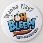 """Oh Bleep! Wanna Play Button 6"""""""