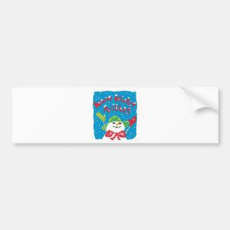 Oh boy, Snowboy! Bumper Stickers