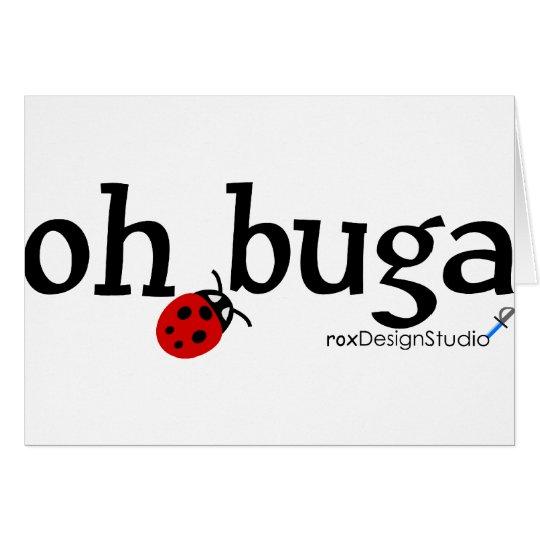 oh buga vLadybug Card