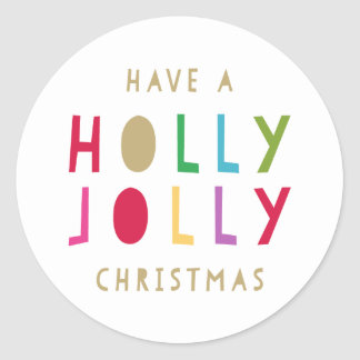 Oh By Golly | Gift Tag Stickers